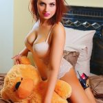Escort Ankara Whatsapp puss Angelika in Louboutins stands a little bit playful with her Teddy bear underlining the inflated breasts of more than 2nd size that are recognized officially on her page